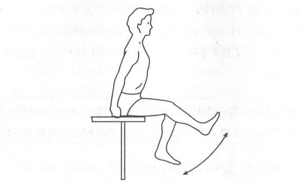 Физические упражнения при артрите коленного сустава локтевой сустав разработка упражнения рисунок