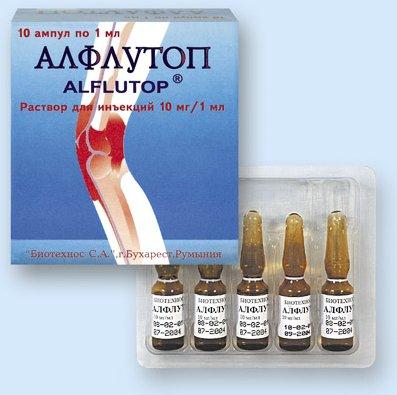 алфлутоп инструкция по применению уколы внутримышечно