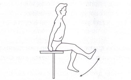 Комплекс упражнений при артрозе коленного сустава №1